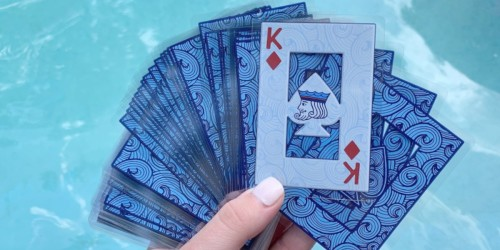 Play Cards Anywhere w/ These Waterproof Playing Cards For Under $6 on Amazon