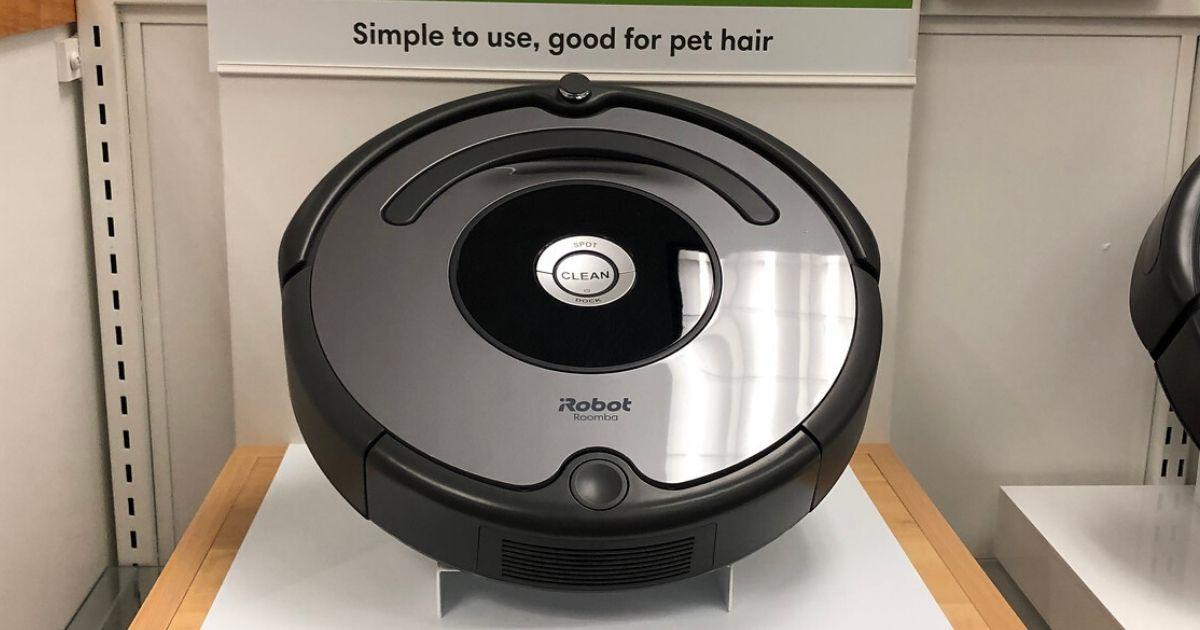 Roomba robotic vacuum