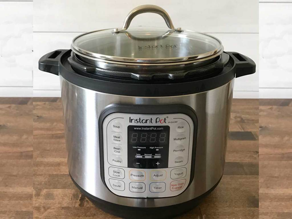 instant pot with glass lid