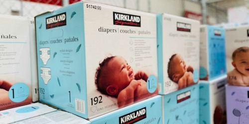 Kirkland Diapers Club-Size Boxes from $23 Shipped on Costco.com (Starting 8/5)