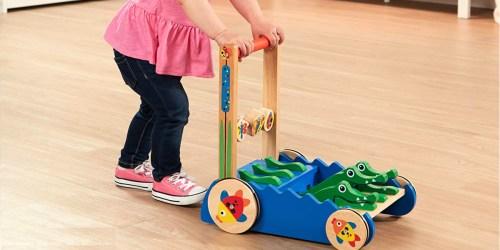 Melissa & Doug Alligator Push Toy Only $25 Shipped (Regularly $55)