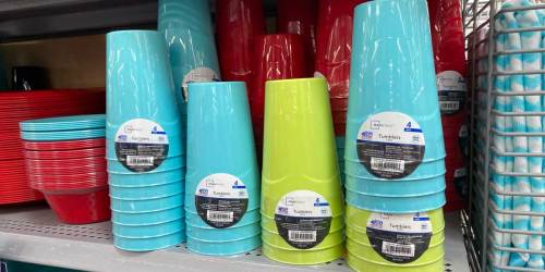 Mainstays Plastic Tumblers 4-Pack Just 50¢ at Walmart | Only 12¢ Per Cup