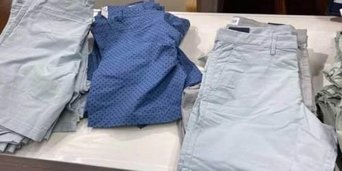 Gap Men's Apparel from $9.99   Polo Shirts, Shorts & More