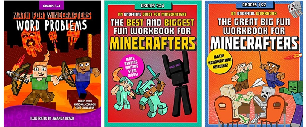 minecraft workbooks