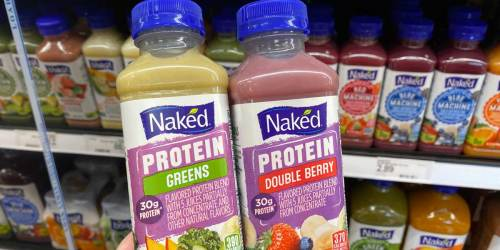 40% Off Naked Juice Protein Smoothies at Target | Just Use Your Phone