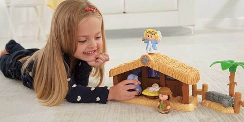Fisher-Price Little People Deluxe Nativity Set Only $25 on Walmart.com