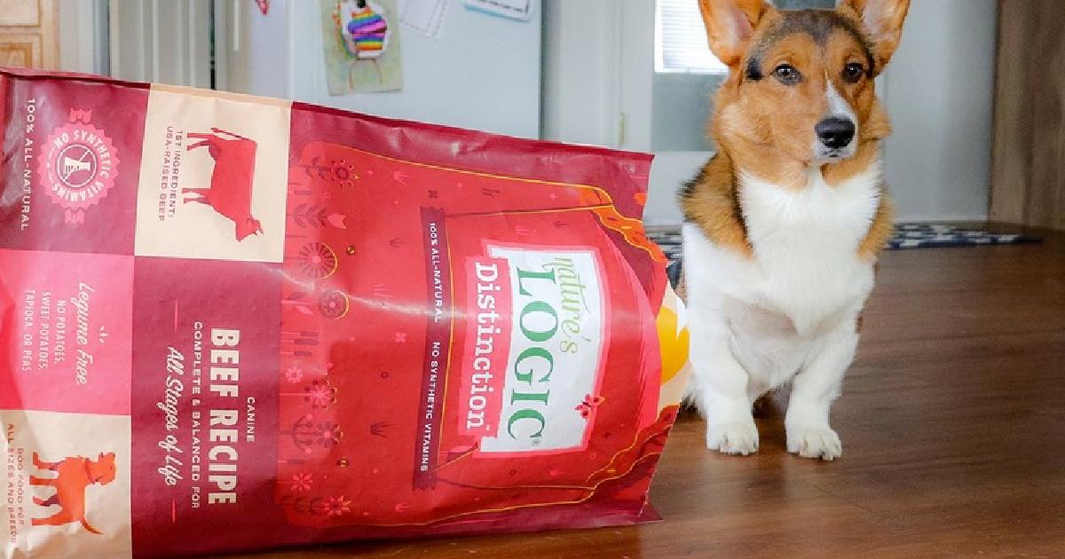 FREE Nature's Logic Distinction Dog Food 1LB Bag Printable Coupon ($6.49 value)