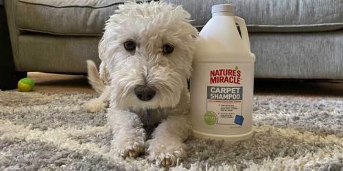 Nature's Miracle Carpet Shampoo 64oz Bottle Only $4.92 on Amazon