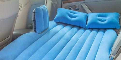 Inflatable Mattress w/ 2 Pillows & Motor Pump Only $25 on Walmart.com