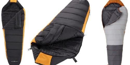 Ozark Trail Mummy Sleeping Bags from $25.60 on Walmart.com (Regularly $60+)