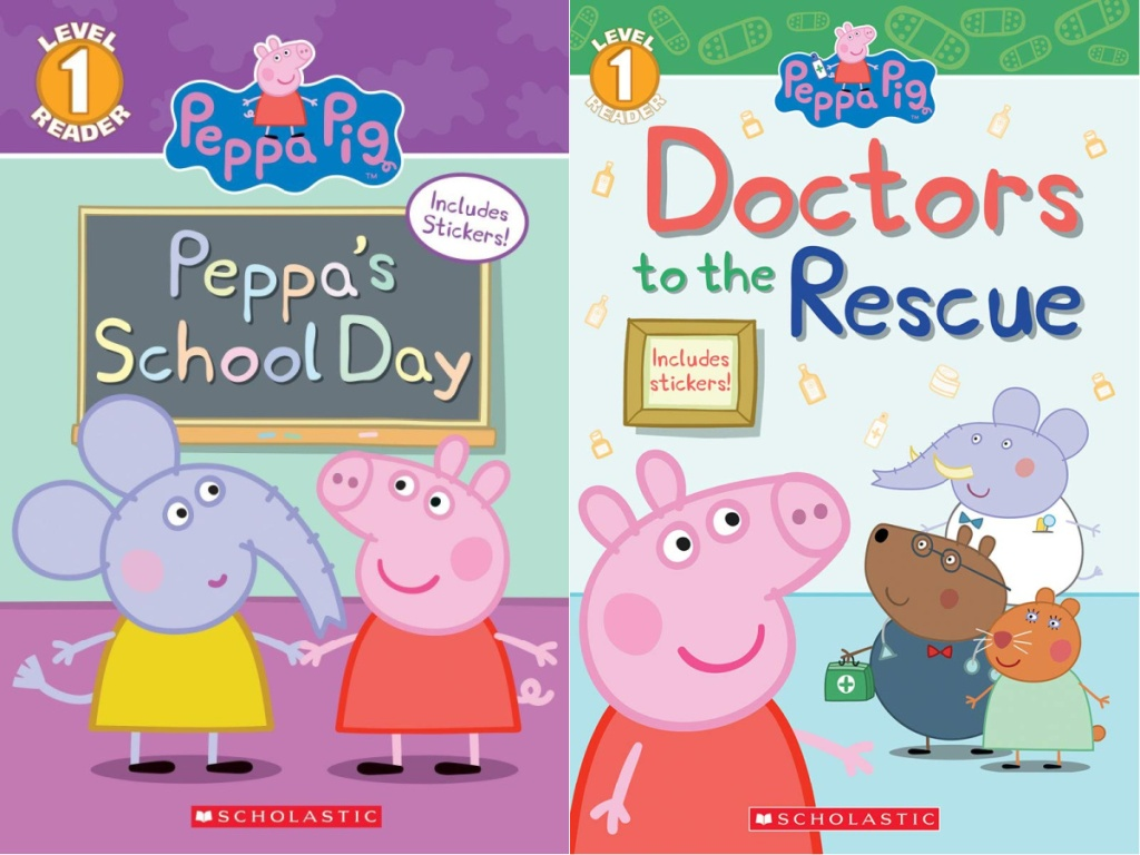 peppa pig's school day and doctors to the rescue