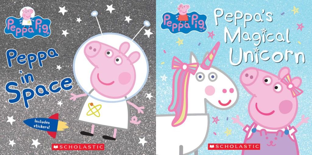peppa in space and peppa's magical unicorn titles