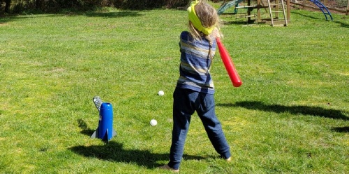 Franklin Sports MLB Kids Pitching Machine Just $22.99 on Amazon (Regularly $40)