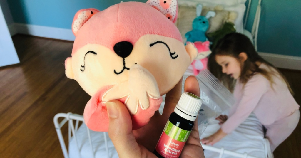 plush fox and scented oil