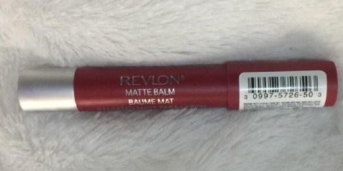 Revlon Matte Lip Balm Only $3.42 Shipped on Amazon (Regularly $9.49)