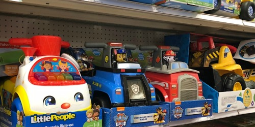 Disney & Paw Patrol Ride-On Toys from $15 on Walmart.com (Regularly $32+)