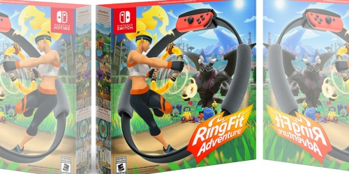 Ring Fit Adventure Game In-Stock Now on BestBuy.com