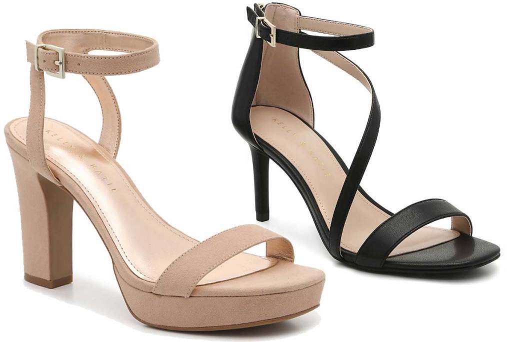 woman's strappy sandals