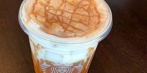 This Starbucks Secret Menu Drink Tastes Like Caramel Apple Pie
