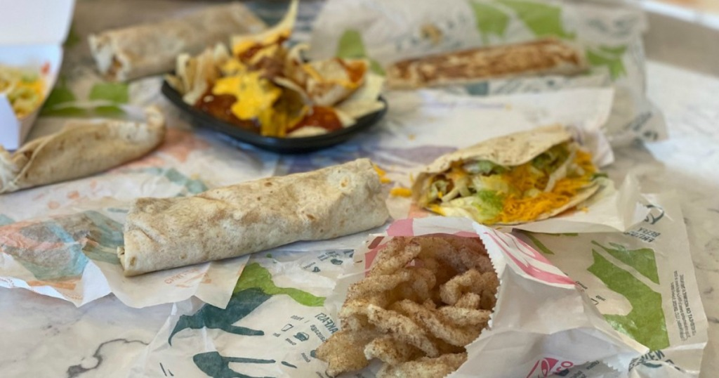 taco bell dollar menu food items