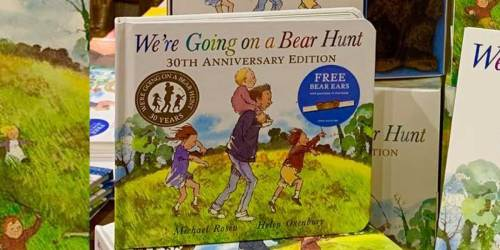 We're Going on a Bear Hunt Board Book Only $3.86 on Walmart (Regularly $10)