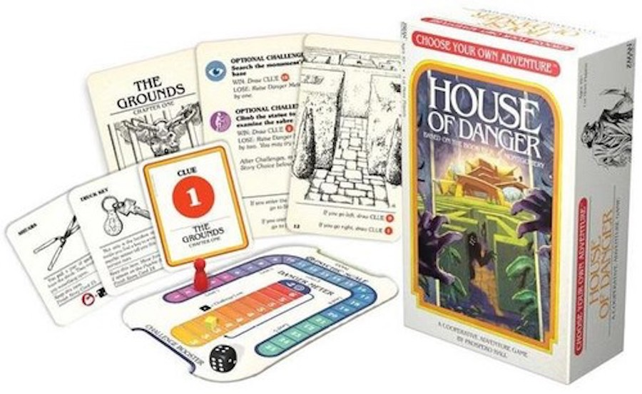 House of Danger Adventure Board Game