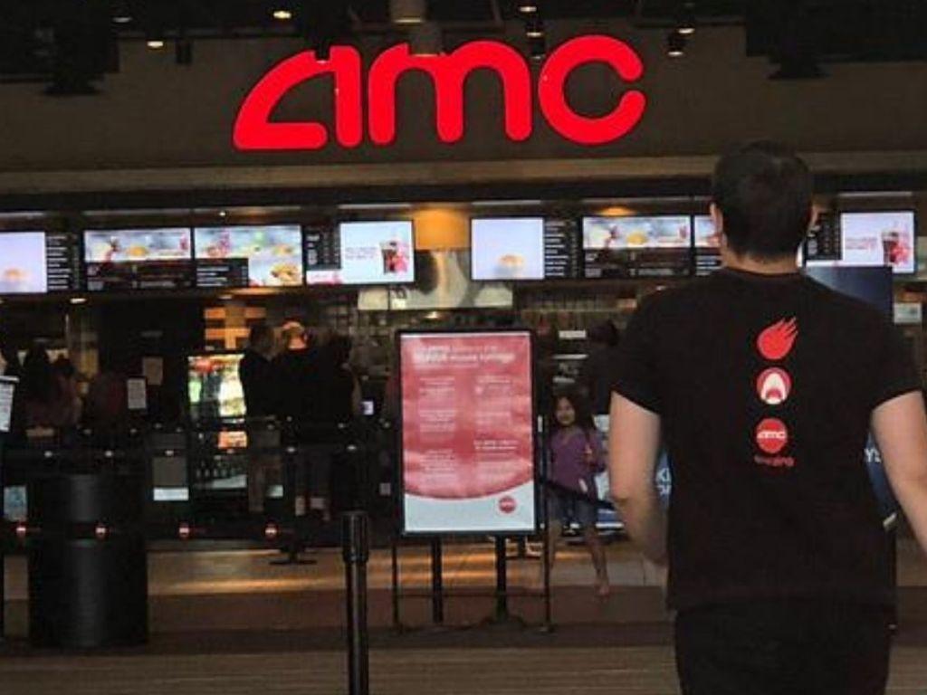 AMC Theater inside lobby