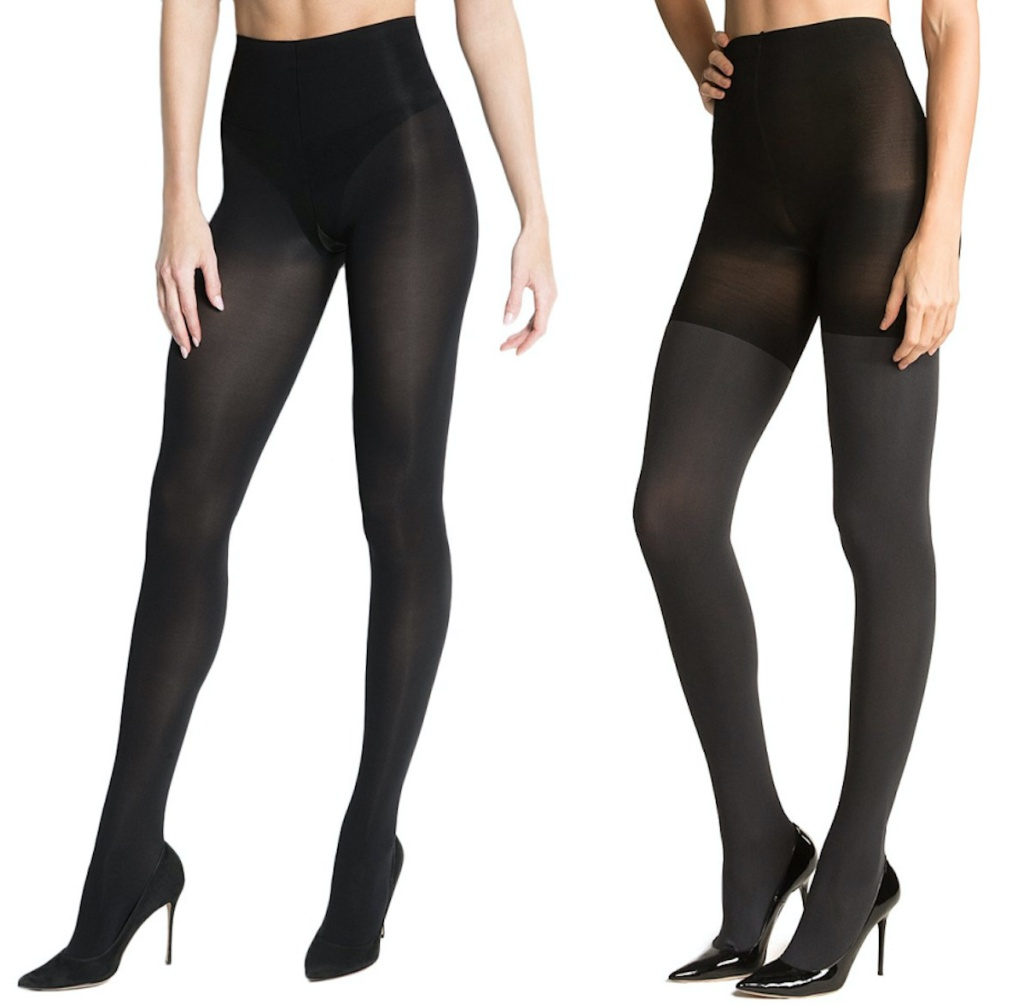 two pairs of ASSETS by SPANX Tights
