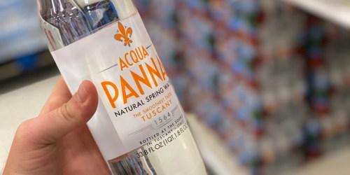 Acqua Panna Spring Water 1-Liter Bottles Just 20¢ Each at Target (Regularly $2.29)