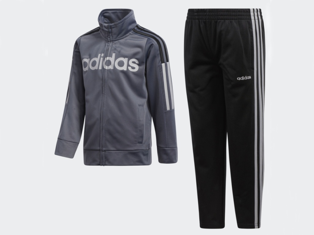 childs adidas track jacket and matching pants