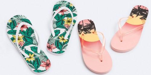 Aeropostale Women's Flip Flops Just $3 (Regularly $12.50)