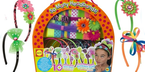 Alex Toys DIY Headbands Set Only $9.46 on Amazon | Includes Supplies for 10 Headbands