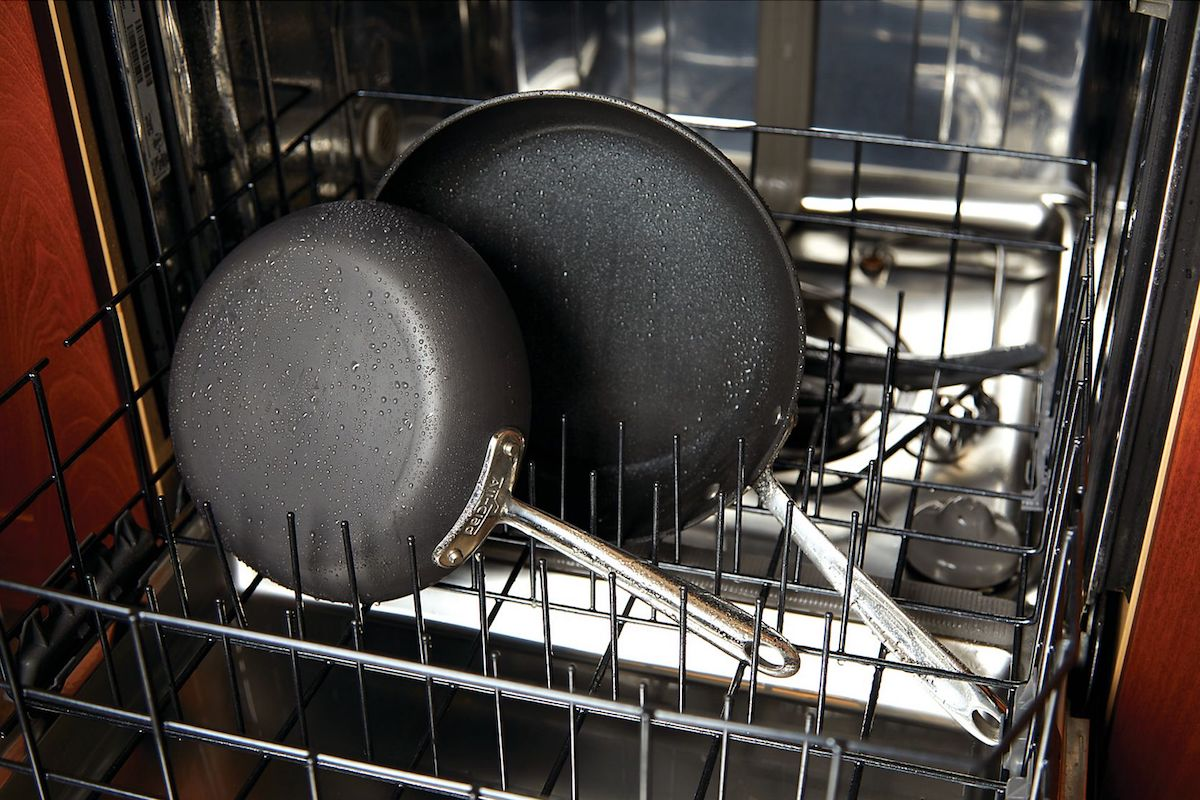 All Clad Pans in dishwasher