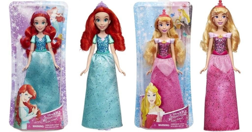 Ariel and Aurora Dolls