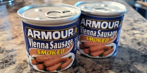 Armour Smoked Vienna Sausages 6-Pack Only $2 Shipped on Amazon