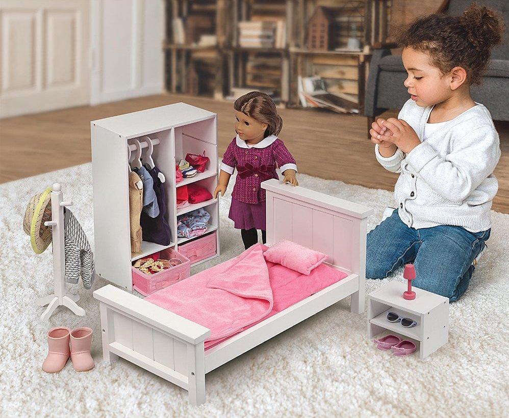 Badget Basket Bedroom set with doll