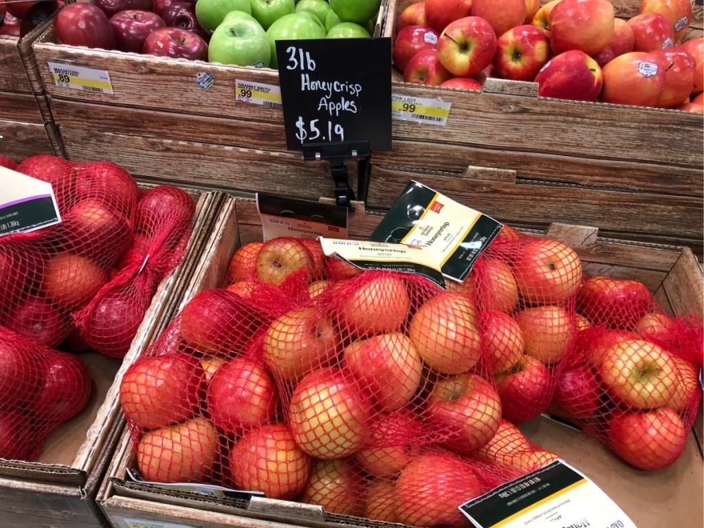 Bagged Honey Crisp Apples at Target