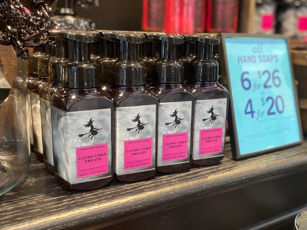 Bath & Body Works Candy Corn Foaming Hand Soap