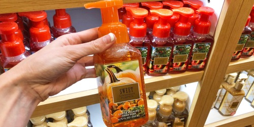 Bath & Body Works Hand Soaps & Wallflowers Refills Only $2.99   In-Store & Online