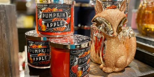 Bath & Body Works 3-Wick Candles Just $14.50 (Regularly $24.50) | Includes Fall & Halloween Scents