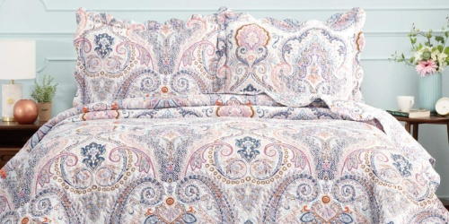 Bedsure Paisley Quilted Bedspreads w/ Shams from $17.99 Shipped on Amazon