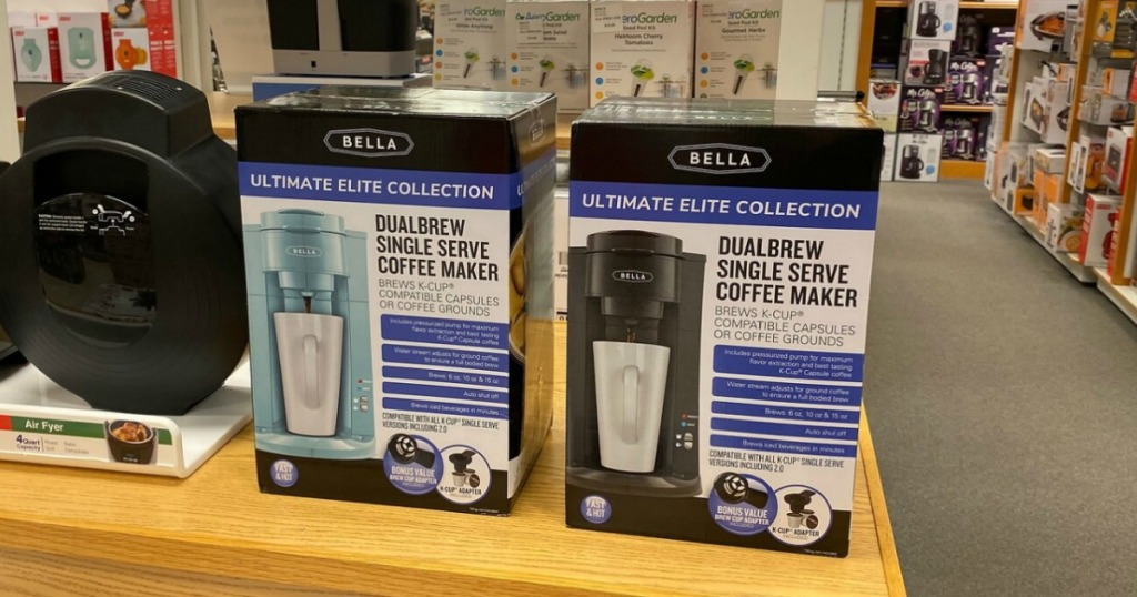 Bella Dual Coffee Maker from Kohl's