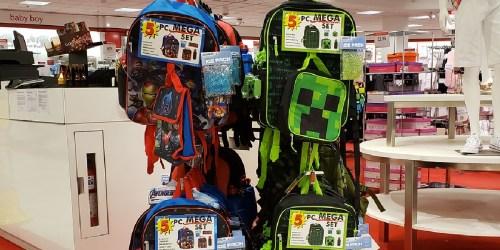 Kids Backpack 5-Piece Sets Only $16 on Macys.com | Disney, Marvel, & More