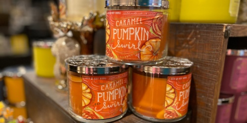 Buy 2, Get 2 FREE Bath & Body Works Candles | 3-Wick Candles from $10 Each