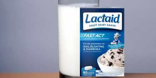 Lactaid Lactose Relief 60-Count Only $7.96 Shipped on Amazon