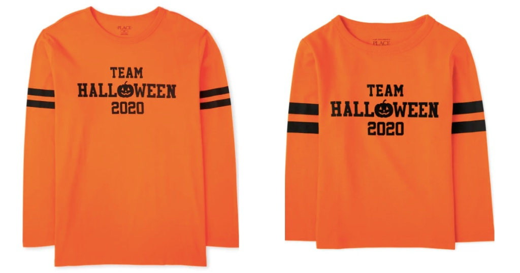 halloween matching family tees adult and baby