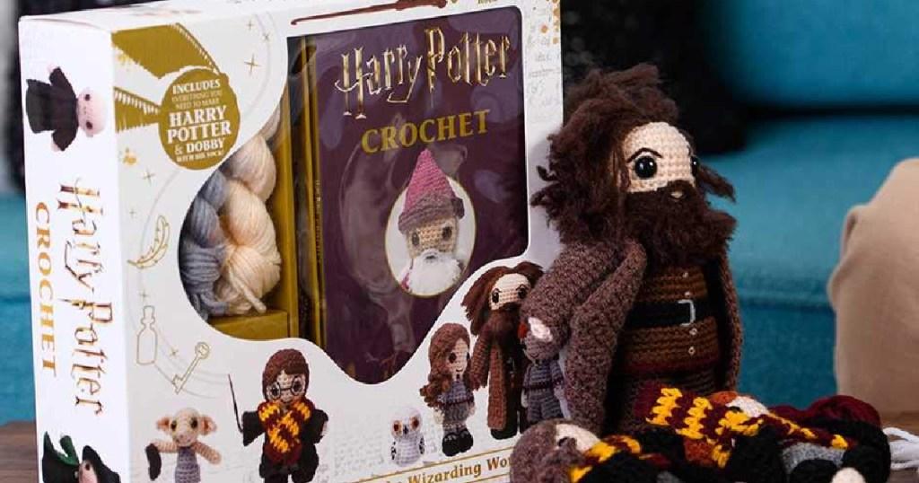 harry poter crochet kit with hagrid doll