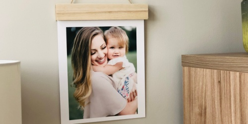 Up to 75% Off Wood Hanger Board Prints, Photo Cubes & More + FREE Walgreens In-Store Pickup