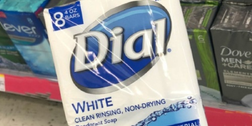 Dial Antibacterial Bar Soap 8-Count Only $3.32 Shipped on Amazon