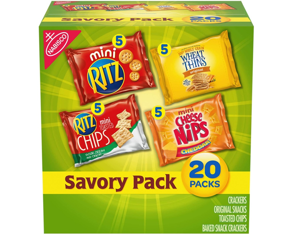 nabisco snack variety pack in box
